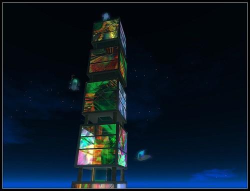 The Painted Glasstower