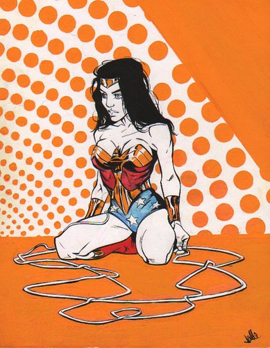 Wonder Woman Orange