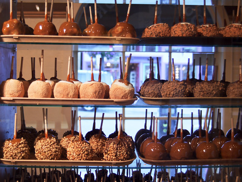 Candy apples // Park City, 2010