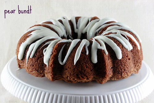 Pear Bundt - I Like Big Bundts 2
