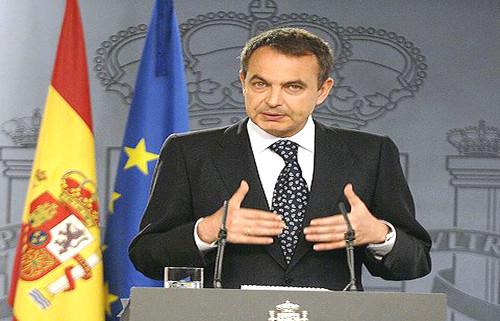 josé luís rodrígez zapatero, presidente del gobierno español
