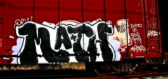 IMG_5518 (mightyquinninwky) Tags: railroad graffiti tag graf tracks railway tags tagged railcar rails boxcar graff graphiti freight trainart fr8 railart boxcarart freightart taggedboxcar paintedboxcar paintedrailcar taggedrailcar