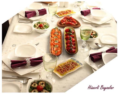 Akşam Yemeği Davet Sofrası (Dumanlı Ailesi)-9
