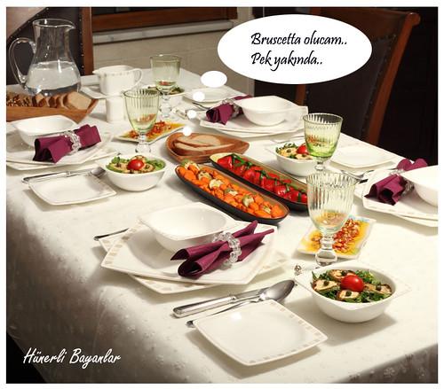 Akşam Yemeği Davet Sofrası (Dumanlı Ailesi)-12