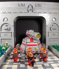 War on Gravor (Ludgonious) Tags: de toy soldier army march liu war tank lego space arc victory parade scifi invasion
