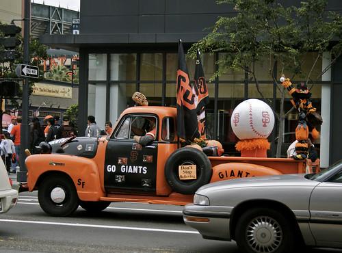 Giants Truck