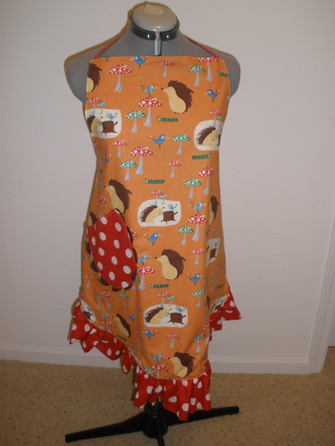 Sassy Hedgie Apron Front