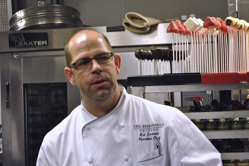 Kai Lerman, Executive Chef at Peninsula