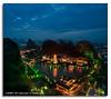 Once Upon A Time In Guilin (DanielKHC) Tags: china blue mountain lake mountains green night digital pagoda high nikon long exposure dynamic guilin 5 hill fairy karst range dri tale hdr blending guanxi d300 diecai mulong danielcheong danielkhc tokina1116mmf28