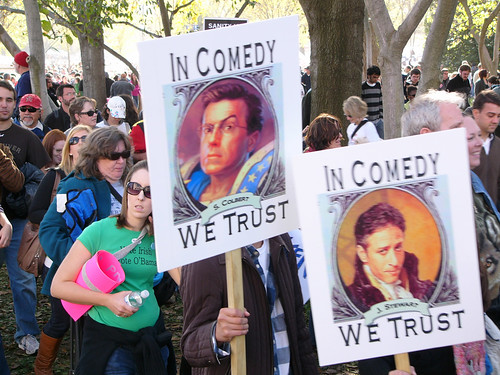 Rally To Restore Sanity In Comedy We Trust