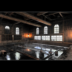 Houshi onsen (Laurent T (aka thery_lg)) Tags: hot japan hotel inn bath interior ryokan onsen inside gunma houshi chojukan