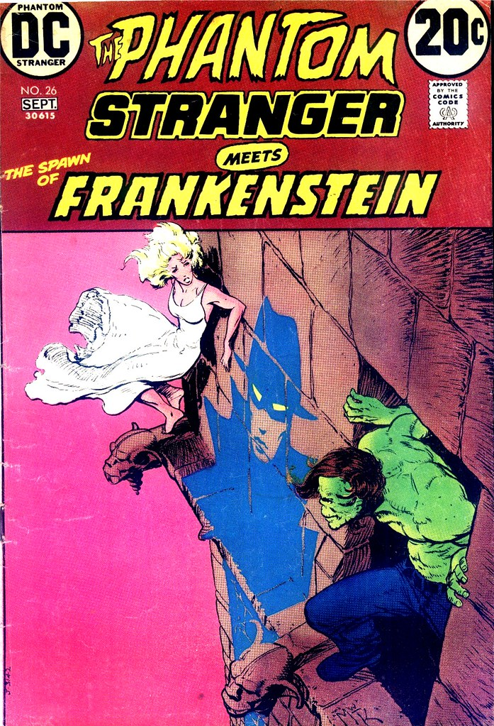 The Phantom Stranger 26 cover by Mike Kaluta