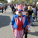 Uncle Sam on Constitution Avenue