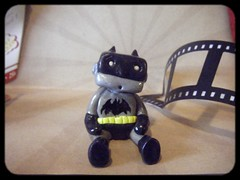 batman Robot (Sleepy Robot 13) Tags: film movie batman thedarkknight polymerclayurbanvinylsleepyrobot13etsysilvercraftcraftscraftingsculptingsculpturefigurinearthandmadecraftshowcutekawaiirobots