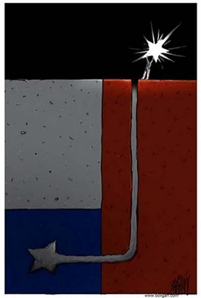 El rescate de los 33 mineros en caricaturas extranjeras