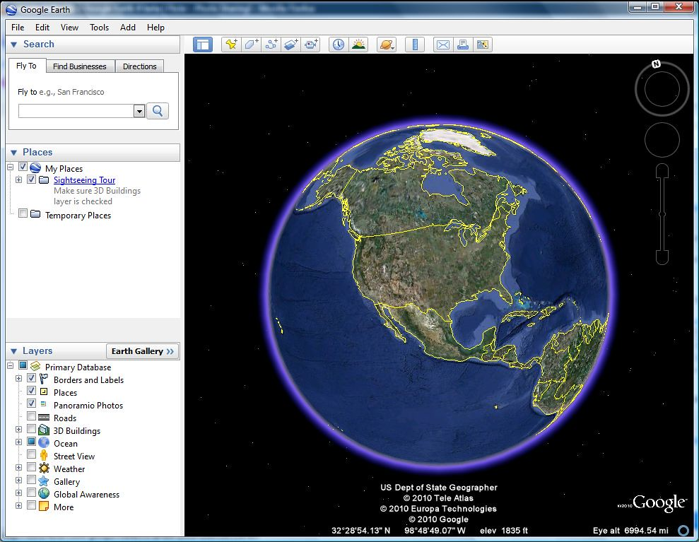 Google Earth by Jonica Schmutz, on Flickr