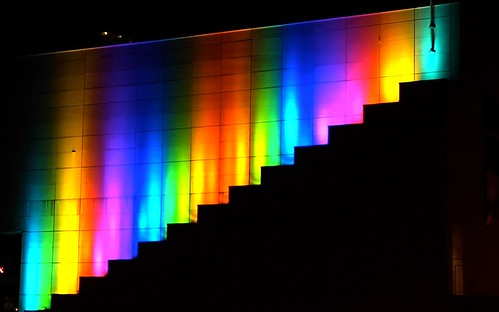 Knoxville Colorline: Bill FitzGibbons KMA Light Installation