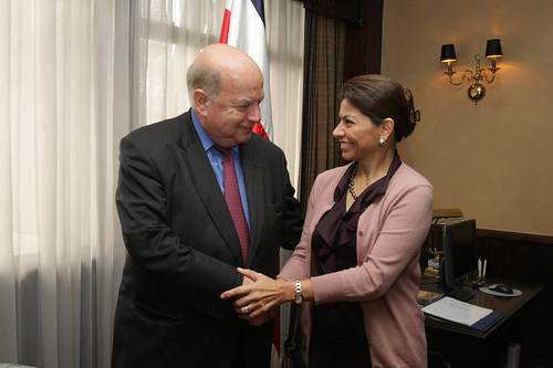 OAS Secretary General Meets Again with President of Costa Rica