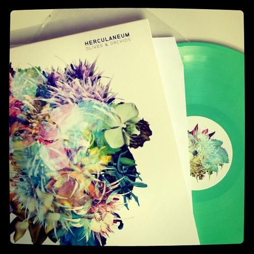 green vinyl.