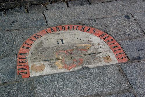 El viejo kilómetro 0 de Madrid