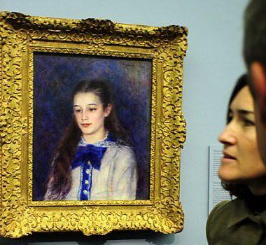 Cuadro de Renoir expuesto en el Museo del Prado