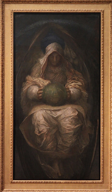 The All-Pervading, George Frederic Watts, 1887-90