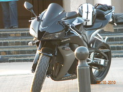 CBR 600rr () Tags: black rock speed honda mt hard bikes biker kuwait arai cbr  600rr    agv