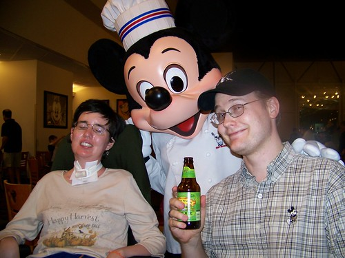 A Beer with Mickey