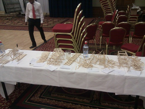 The 9 bridges we managed to break during judging.