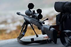 Tikka T3 Tactical (Timo Vehviläinen) Tags: gun dof bokeh scope rifle competition tikka 135mm kilpailu firearm ase canonef135mmf2l loppi vares kivääri vantaanreserviläiset tikkat3tactical 3asentokilpailu