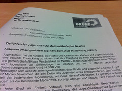 Antrag der Grünen Bochum zum Jugendmedienschutz-Staatsvertrag (JMStV)