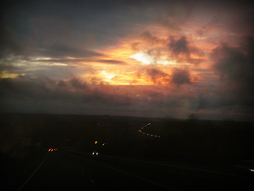 Day 168 - Fraddon sunset from the A30