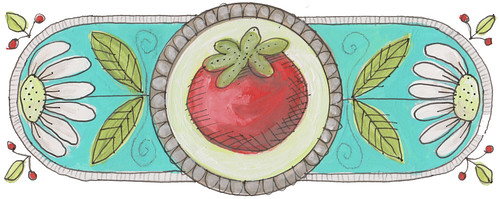 Tomato in Circle
