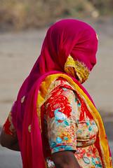Veiled Woman, Road to Ranakpur (Peter Cook UK) Tags: ranakpur veiledwoman