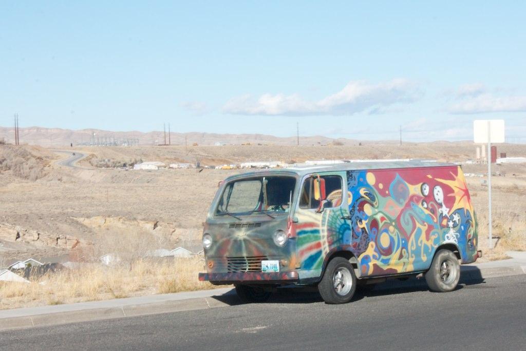 Psychedelic Van
