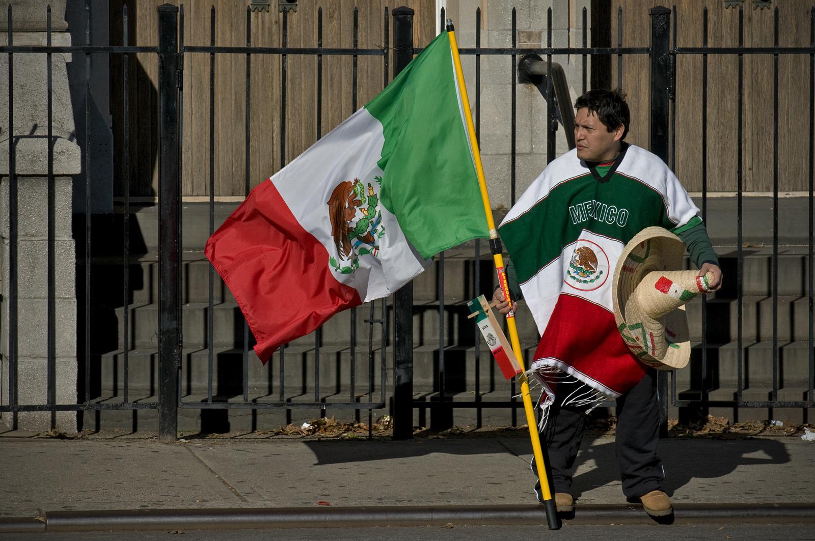 Mexican Marathon Fan