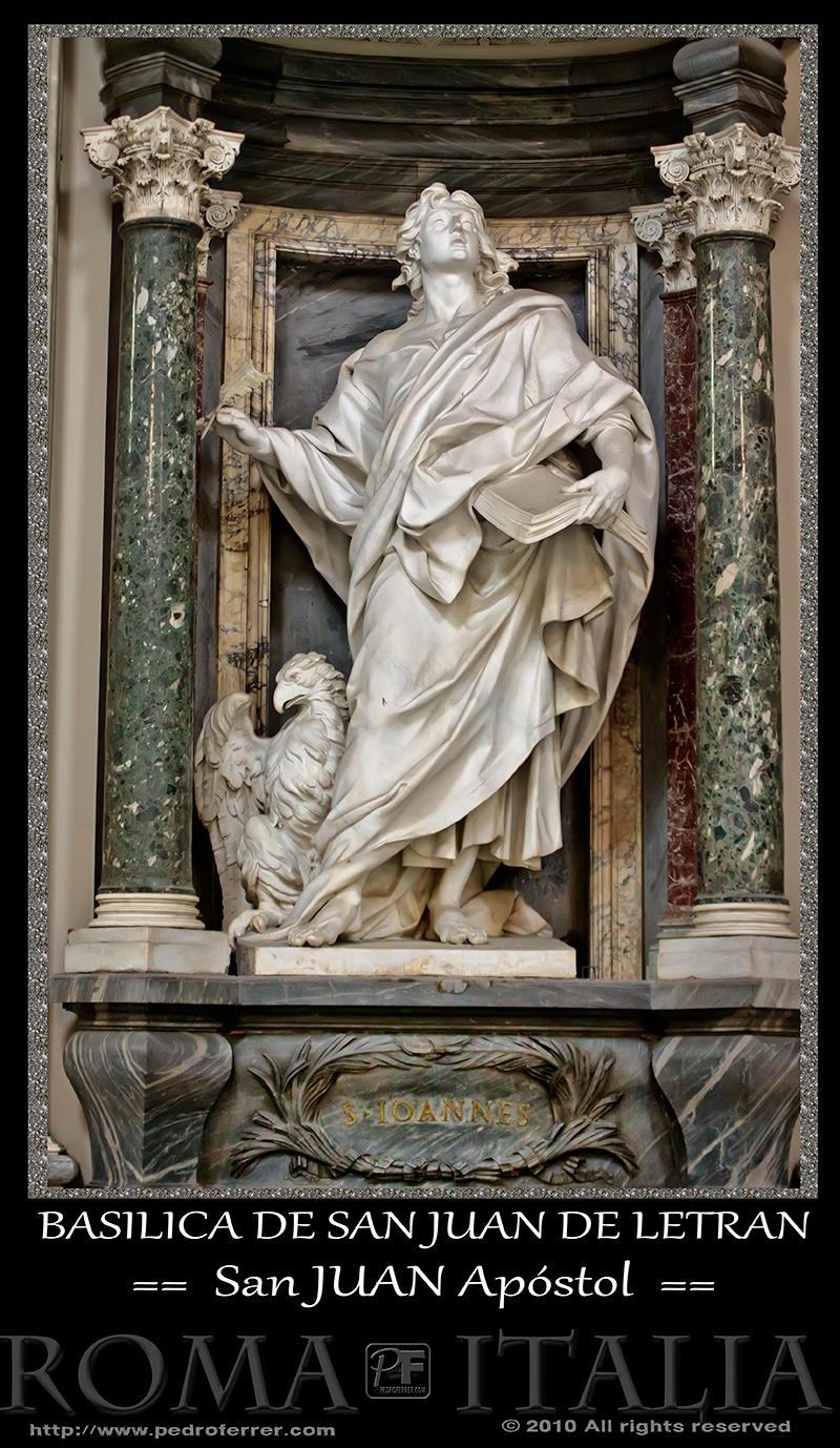 Roma - Basílica de San Juan de Letrán - San Juan Apóstol