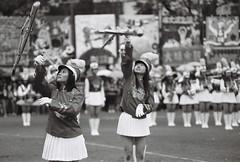 (billlushana1) Tags: blackandwhite canon eos boots taiwan skirt kaohsiung uniforms  2010 canoneos3 highschoolgirl  eos50d canoneos50d
