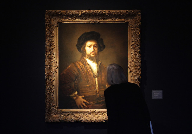 Rembrandt's 'Portrait of a man'