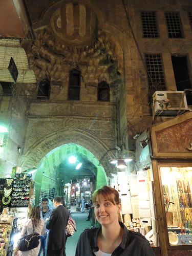 Night market in Cairo