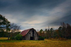 A barn I've shot a time or two before. (clay.wells) Tags: county old autumn cloud hot building fall abandoned rose barn rural canon lens photography eos us spring movement highway zoom clayton country wells structure glen pasture arkansas usm ef 1740mm 67 2010 disrepair bigmomma f4l 40d img8341 thechallengefactory