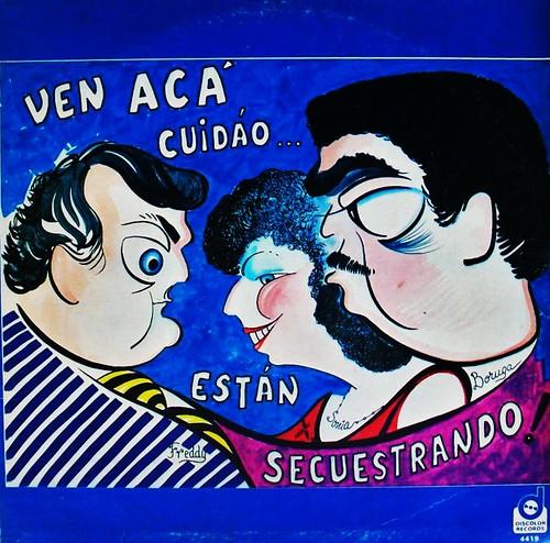 (1980) Freddy . Sonia . Boruga - Cuidado (Front)