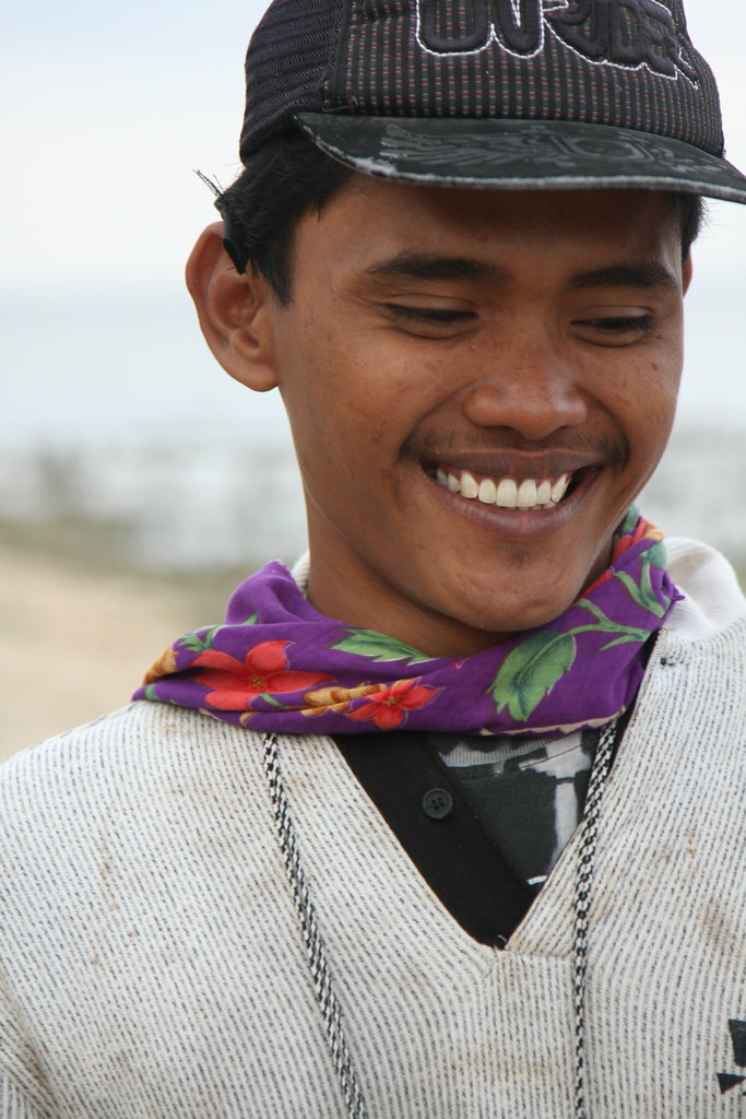 Local fisherman, Pemuteran, Bali, Indonesia