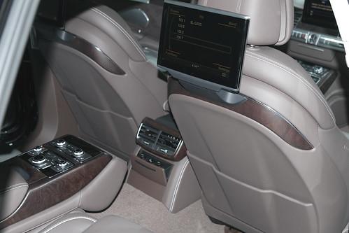 2011 Audi A8L rear seat