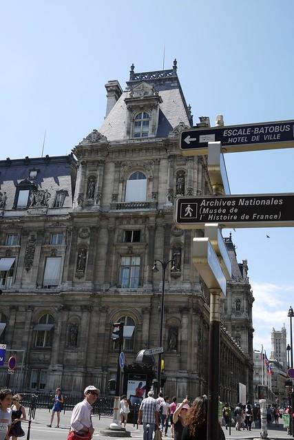 Hôtel de Ville 巴黎市政廳