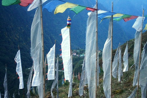 lachung flags