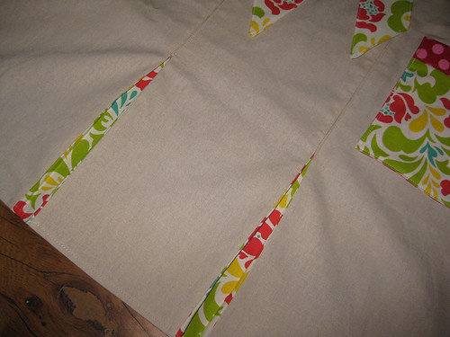 city girl apron pleats