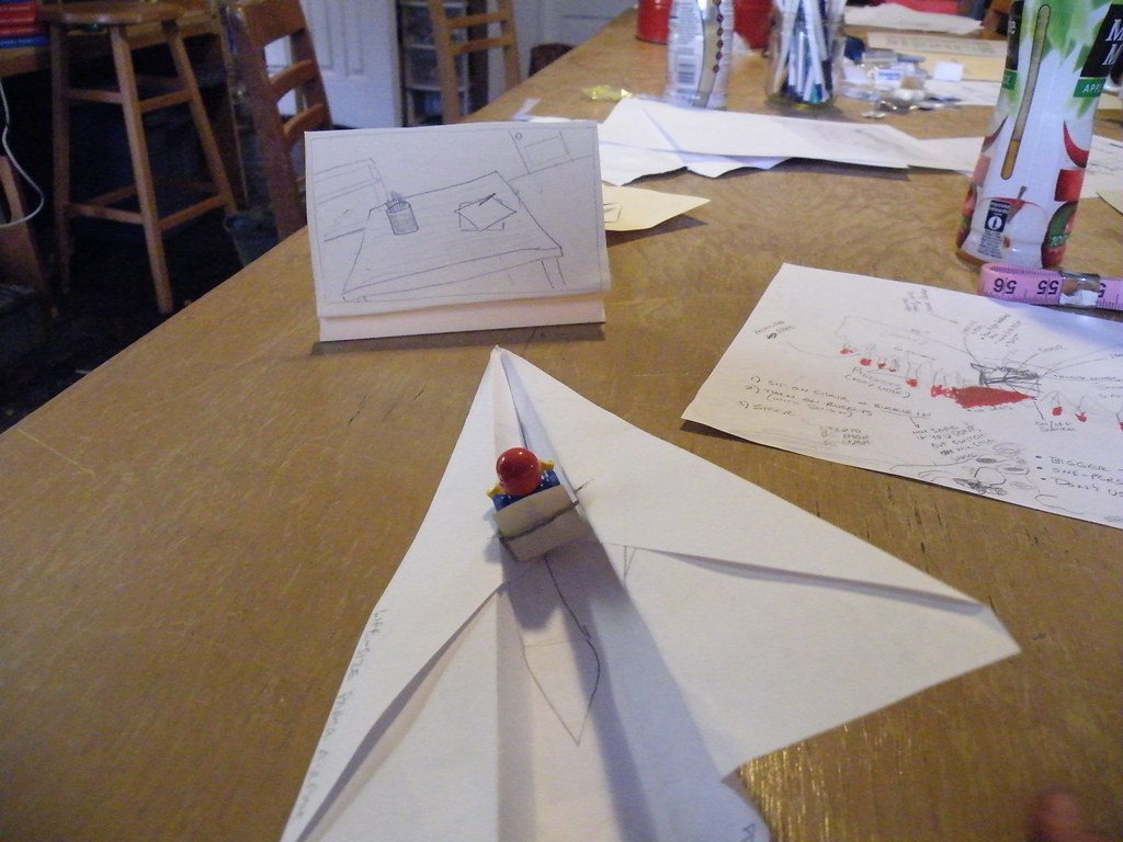 Paper Airplane Flight Simulator