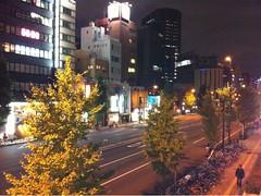 田町駅到着。歩いて西日暮里の自宅に向かいます。