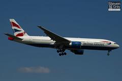 G-VIIS - 29323 - British Airways - Boeing 777-236ER - Heathrow - 100617 - Steven Gray - IMG_4626